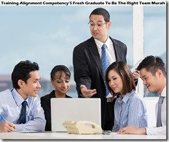 training fresh graduate to be the right team murah