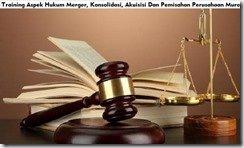 training aspek hukum merger murah